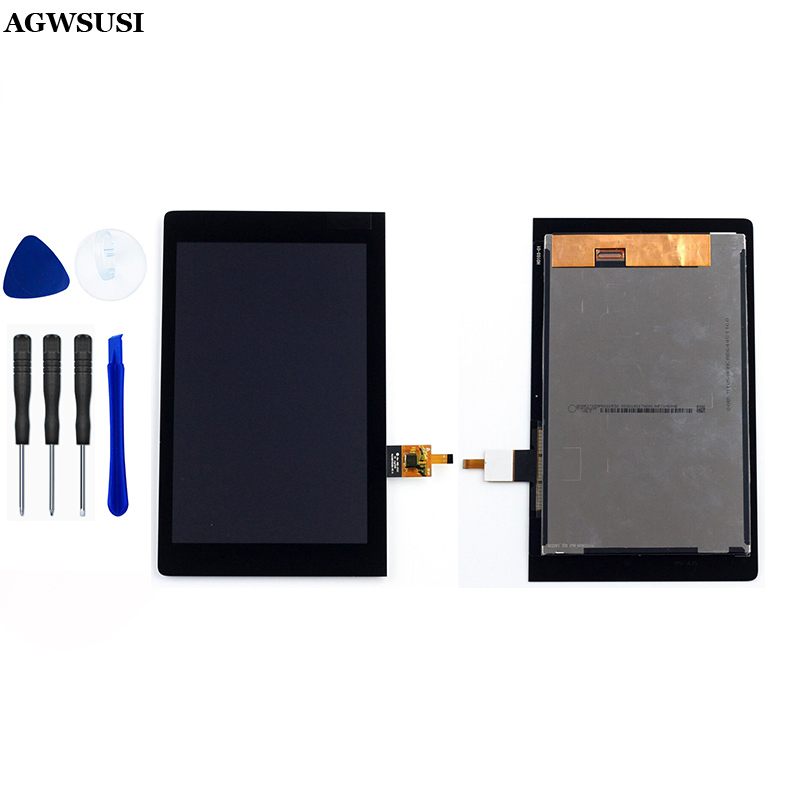 For Lenovo YOGA TAB 3 8.0 YT3-850 LCD Touch YT3-850F LCD Screen YT3-850L LCD Display Panel Touch Screen Panel Sensor Assembly