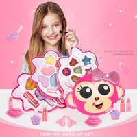 Ensemble de jouets de maquillage pour filles semblant jouer princesse rose maquillage beauté sécurité Kit Non toxique jouets pour filles habiller les cadeaux cosmétiques pour enfants