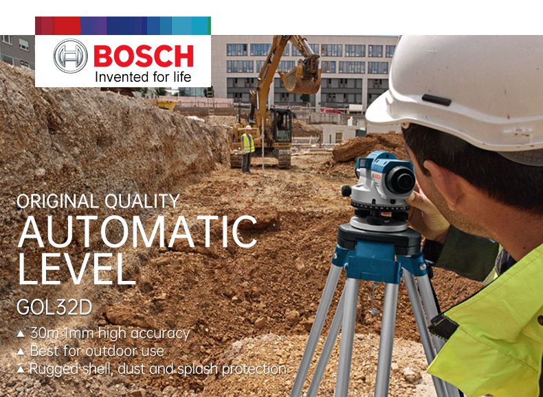 Original quality automatic level of Bosch Optical Laser