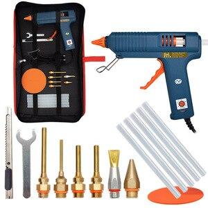 Image 1 - 150W Hot Melt Glue Gun Adjustable Temperature Glue Gun Nozzle 11mm Glue Sticks Professional Indusrial Melt Gun  Adhesive Hot Gun