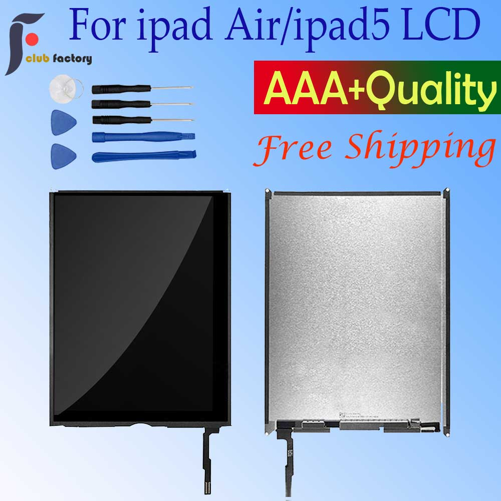 For Apple IPad Air  5th IPad 5 A1474 A1475 A1476 Touch Screen Digitizer Assembly Panel Replacement  For IPad 5 LCD Display