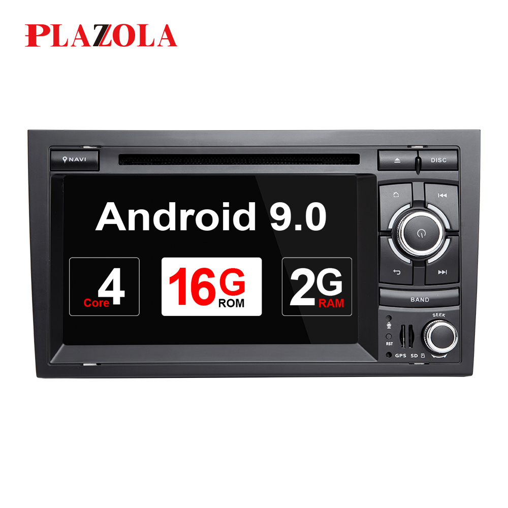2 Din Android 9.0 Car DVD Player For <font><b>Audi</b></font> <font><b>A4</b></font> <font><b>B6</b></font> B7 S4 B7 <font><b>B6</b></font> RS4 B7 SEAT Exeo GPS Navi Radio stereo <font><b>Multimedia</b></font> Head Unit 4G OBD2 image