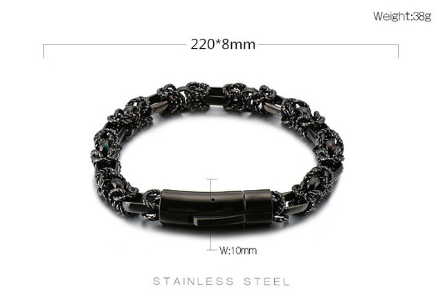 KALEN Retro Stainless Steel...