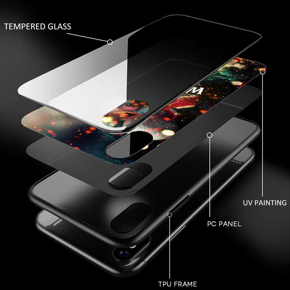 EWAU hermosa funda de teléfono de vidrio Rosalia para Huawei P20 30 P Smart Mate20 pro Lite Honor9 10 Lite