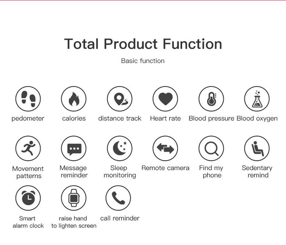 Hda53fe5818ee4671808d4b8be65621d0n 2020 Bluetooth Smart Watch Men Blood Pressure Round Smartwatch Women Watch Waterproof Sport Tracker WhatsApp For Android Ios