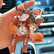 Новые брелки с изображением оленя из мультфильма Сика кукла