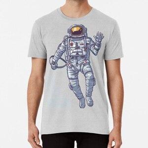Bitcoin Astronaut To The Moon - Light Text T Shirt Bitcoin Litecoin Ethereum Crypto Hodl Cryptocurrency(China)