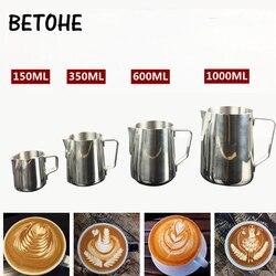 Narzędzie do wyciągania kawy ze stali nierdzewnej spienione mleko Beat Fancy Cup urządzenie do kawy spienianie dzbanek do mleka kuchenna kawa akcesoria