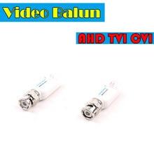 Émetteur-récepteur vidéo Balun HD CVI/TVI/AHD UTP (adaptateur à paires torsadées), transmission BNC vers câble Ethernet (Cat5/5e/6)