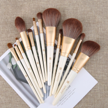 12 Pcs Makeup Brushes Set Beauty Tools Make Up Brush Sets Cosmetic Blush Foundation Eye Shadow Eyebrow Lip Powder Brush Etc.