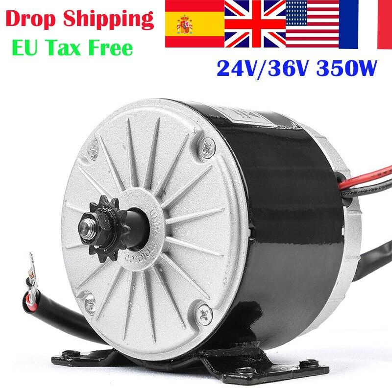 Elektrische bike conversion kit 350W 24V 36V MY1016 Hohe Geschwindigkeit Pinsel Motor für elektrische fahrrad E bike roller motor motor