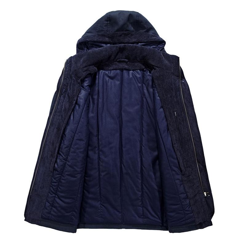 Брендовая зимняя куртка, Мужская Толстая теплая ветровка, мужские парки, высокое качество, кашемировая подкладка, съемная, 2 в 1, пальто размера плюс L 4XL - 6