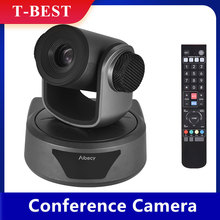 Telecamera di Video Conferenza 3X Opzionale Zoom Cam Webcam Pieno HD 1080P Supportata 95 Gradi di Visione Largo Messa A Fuoco Automatica USB A distanza di Controllo