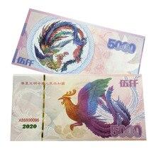 Chiński feniks 5000 papierowe banknoty nie waluta anty-fałszywe rachunki kolekcje