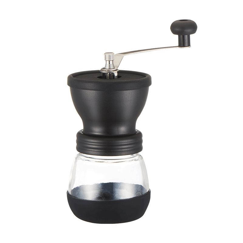 Manual Coffee Grinder Adjustable Coarseness Hand Coffee Bean Mill With Ceramic Burrs
