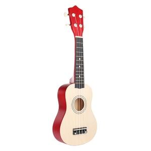 21 inch Ukelele Soprano 4 Strings Hawaiian Spruce Basswood Guitar Musical Instrument Set Kits+Tuner+String+Strap+Bag