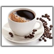 Алмазная живопись «сделай сам» вышивка крестиком кофейные зерна