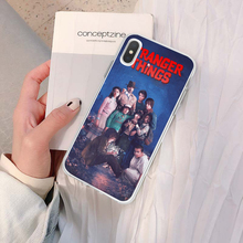Stranger Things Christmas Lights Soft TPU Silicone Phone Cases For iphone Xr 7 7Plus 6 6s Plus 5 5S SE 8 8Plus X XS Max Cover