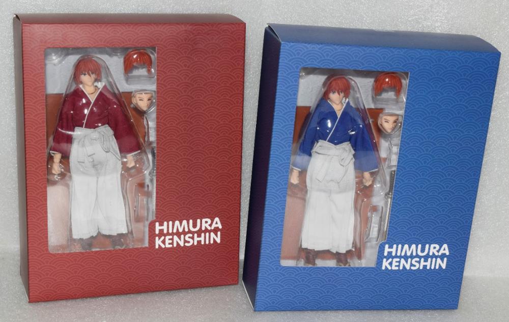 Nouveauté DASIN animé Rurouni Kenshin HIMURA KENSHIN figurine en pvc modèle GT jouet
