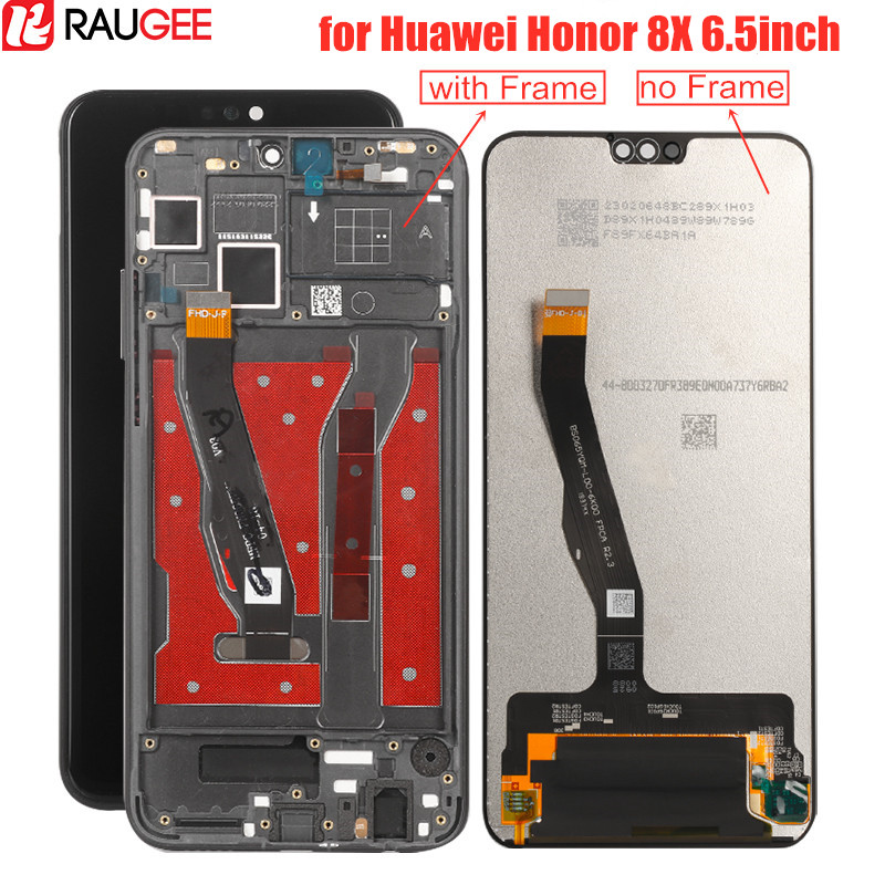 <font><b>Lcd</b></font> Screen for Huawei <font><b>Honor</b></font> <font><b>8X</b></font> <font><b>Lcd</b></font> Display+Touch Screen Digitizer with Frame Replacement for Huawei <font><b>Honor</b></font> <font><b>8X</b></font> 6.5'' <font><b>LCD</b></font> Display image