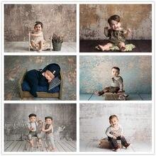 Retro parede de tijolos fotografia backdrops recém-nascidos bebê grunge cimento peeling tijolo foto fundo para estúdio retratos photocall
