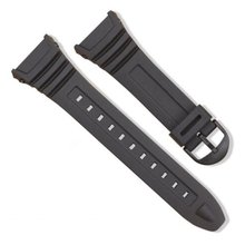 Silicone Watch Band Stainless Steel Pin Buckle Watchband for Casio W-96H Sports Men Women Strap Bracelets недорого