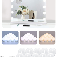 Makeup-Mirror-Light USB LED Professional Full-Backlit-Mirror Hollywood with 3-Colors