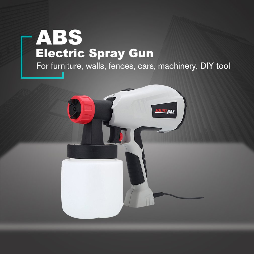 EU US Electric Sprayer Gu Paint Spray Detachable High Power High-pressure Home For Painting Cars Wood Furniture Wall Woodworkin