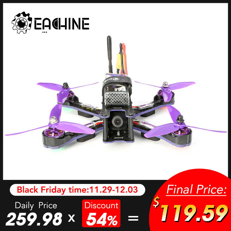 Eachine Wizard X220 FPV гоночный Дрон Blheli_S F3 6DOF 2205 2300KV двигатели 5,8G 48CH 200MW VTX ARF