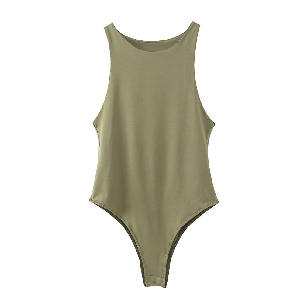 2020  New Summer Autumn  Body Suit Women Casual Sexy  Slim Beach  Romper  Girl Bodysuit  Brand Suit