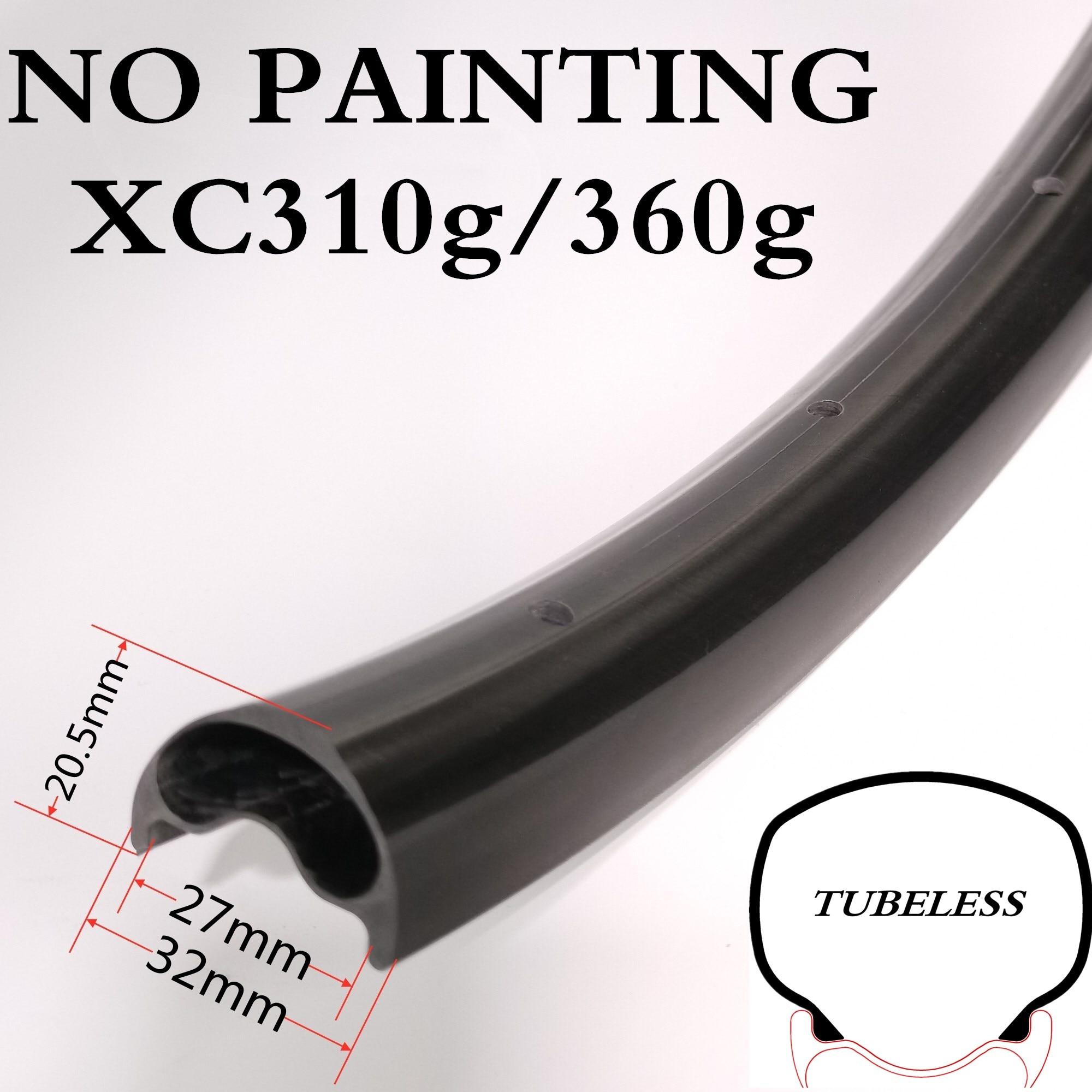 29er XC310g/360g, маленького размера, круглой формы с диаметром 32 мм Ширина 20,5 мм Глубина асимметрия Carbon MTB горный велосипед бескамерные обода развр...