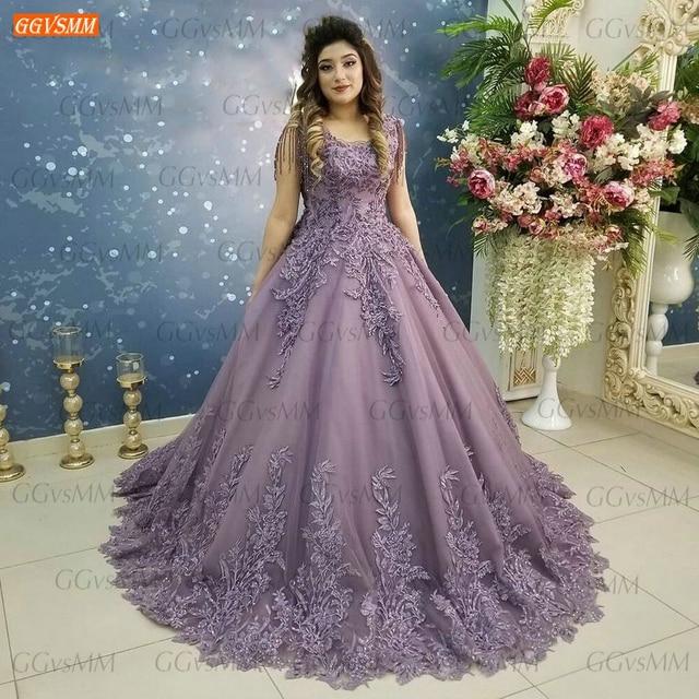 Dark Purple Evening Dresses