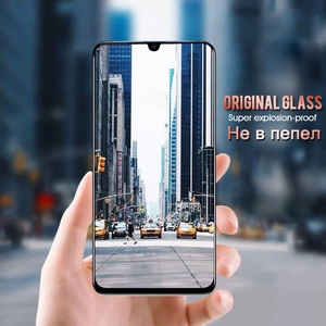 Image 5 - 9D Protective Glass For Huawei Mate 20 10 P20 P30 lite Pro Full Cover Screen Protector on For Honor 10 9 lite Tempered Glass