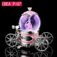 Princesse chariot boîte à musique cadeau d'anniversaire jouets décor pour la maison de mariage décor décoration chambre fête d'anniversaire décoration pour fille