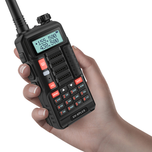 Image 5 - Baofeng UV 6 PLUS longue portée talkie walkie Rechargeable 7W puissance double bande jambon radio émetteur récepteur uv 5r cb radio pour la chasse