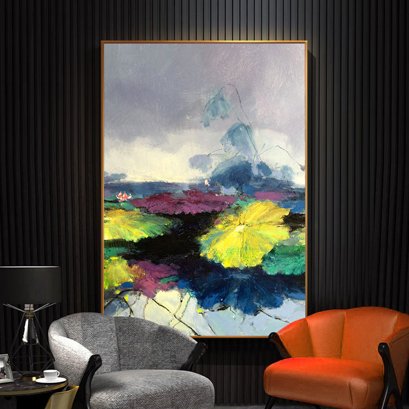 100-Hand-Painted-Abstract-Colourful-Scenerys-Art-Painting-On-Canvas-Wall-Art-Wall-Adornment-Pictures-For (2)