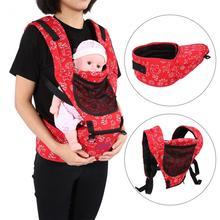 حمالة أطفال مريحة قابلة للضبط مقعد للفخذ قابلة للتعديل للتهوية للرضع حديثي الولادة حمالة أمامية لحمل الطفل حامل للرضع على الظهر