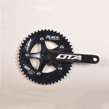 Ota musciq 48t 170mm fixie bicicleta pedaleira 7075-t6 liga de alumínio única velocidade trilha bicicleta estrada bicicleta engrenagem fixa roda dentada