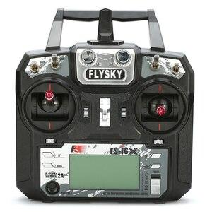 Image 2 - FLYSKY FS i6X i6X 2.4G 10CH AFHDS 2A nadajnik radiowy z X6B/iA6B/A8S/iA10B/iA6 odbiornik do zdalnie sterowanej samolot helikopter dron FPV