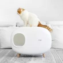 Litter-Box Cat Toilet Pet-Supplies Poop-Tray Fully-Enclosed New Pet-Cat K-STAR Hot-Sale