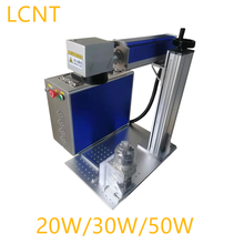 Best Price . 20w/30w/50w Fiber Laser Marking Machine , Metal Engraver With Rotary For Gold , Silver, Copper Engraving