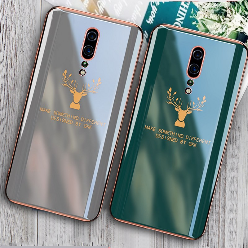 <font><b>Plating</b></font> Case for <font><b>OPPO</b></font> <font><b>Reno</b></font> Ace 2 Z A5 A9 2020 Cover Soft <font><b>TPU</b></font> Silicone Shockproof Case for <font><b>OPPO</b></font> <font><b>Reno</b></font> 4 3 Pro 2F 2Z image
