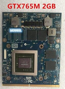 Oryginalny GTX765M GTX 765M N14E-GE-B-A1 karta wideo 2GB dla IMAC A1311 A1312 dell alienware M17X M18X 9R3F5 GDDR5