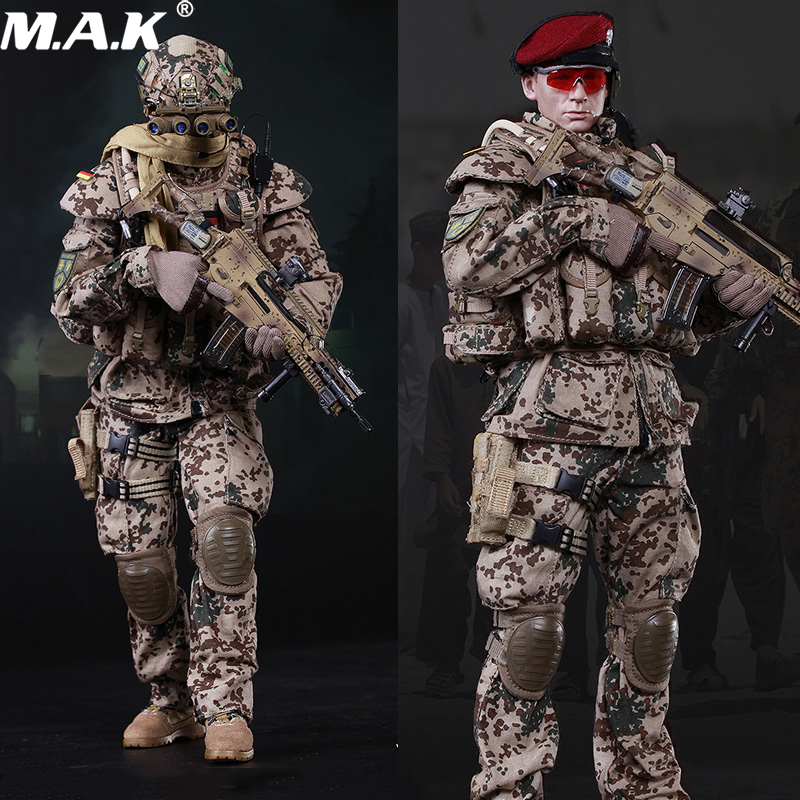 FS73009 1/6 Scale Germany KSK Special Action Team in <font><b>Afghanistan</b></font> Assault Figure 73009 full set soldier doll toys image