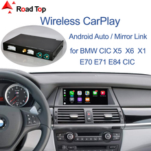 Wireless CarPlay for BMW CIC System X5 E70 X6 E71 2011 2013 X1 E84 2009 2015, with Android Mirror Link AirPlay Car Play Function