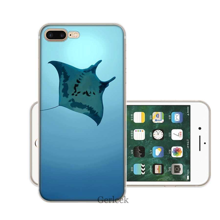 Điện Thoại di động Ốp Lưng TPU cho iPhone 11 Pro XR X XS Max iPhone 7 8 6 6S 6S Plus 5 5S SE Động Vật bát Cao Cấp