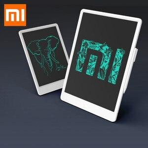 Image 1 - Оригинальный ЖК планшет Xiaomi Mijia для письма с ручкой, цифровой электронный планшет для рисования и рукописного ввода, графическая доска для сообщений