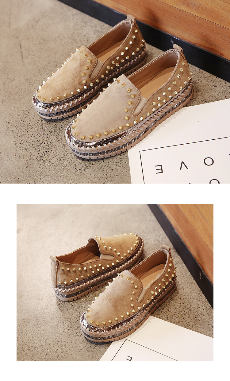 2019 Winter New Women Fur Loafers Comfortable Casual Platform Sneakers 74