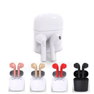 Image 5 - I7 Bluetooth 4.2 earbuds TWS wireless Earpieces mini Bluetooth earphones sports stereo Handsfree inearphones with charging box