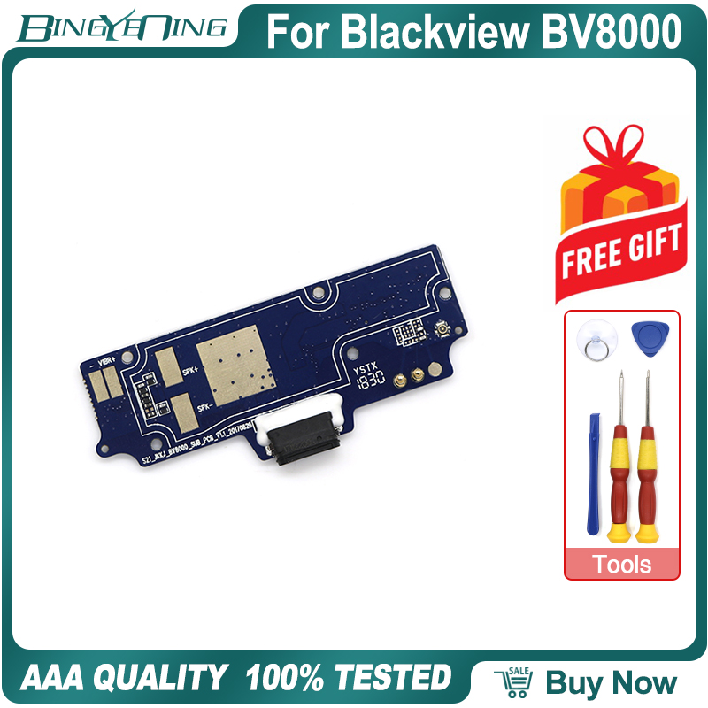 Charging-Port Parts Pro-Repair-Replacement-Accessories Blackview Bv8000 Board for Usb-Plug title=